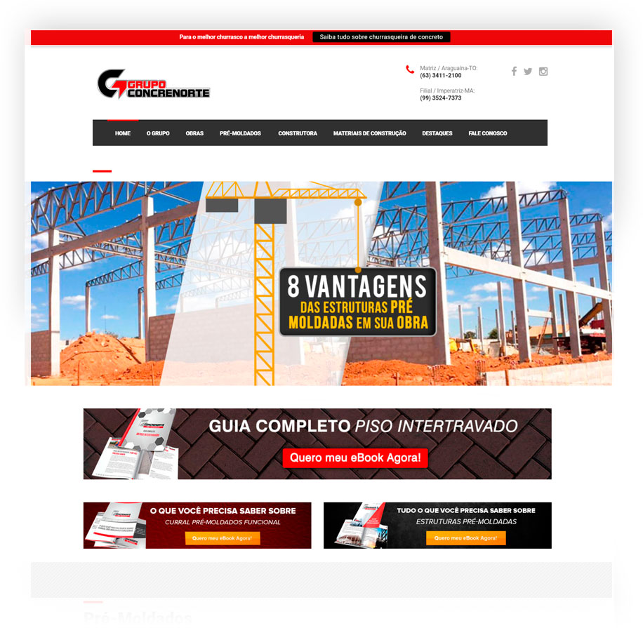 Capa site Concrenorte
