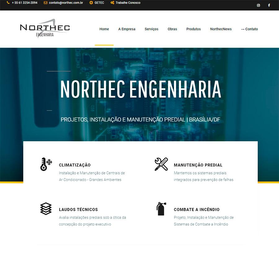 SEO e Conteúdo para o site da Northec Engenharia