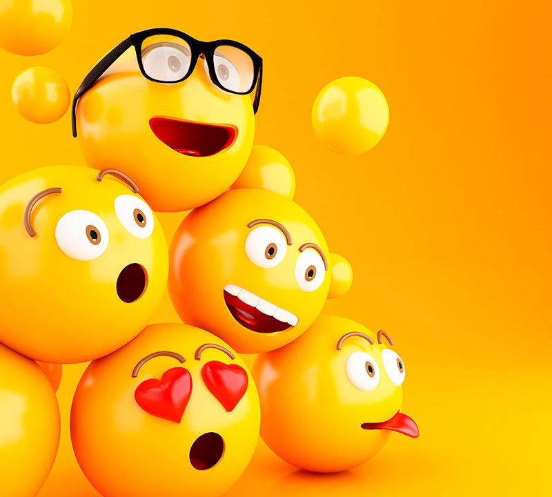 Usando emojis de maneira profissional